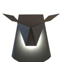 lampe-cerf-argent-détourée