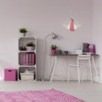 COMPAGNIE-Lampe-Paon-Rose-chambre-rose