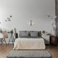 COMPAGNIE-Lampe-Paon-argent-chambre