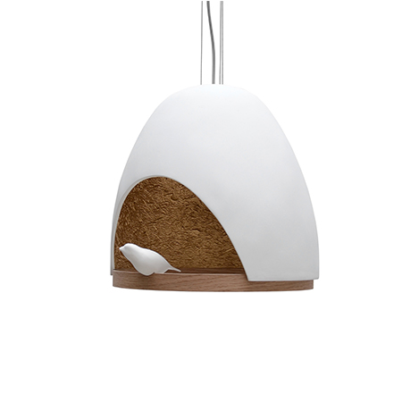 lampe-oiseau-blanc-or
